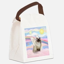 Clouds / Himalayan Cat Canvas Lunch Bag