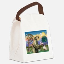 TILE-StFrancis-HimilayanJF.png Canvas Lunch Bag