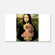 Mona / Norfolk Terrier Rectangle Car Magnet