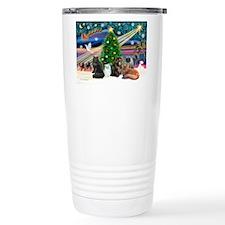 XmasMagic/5 Persian Cats Travel Mug