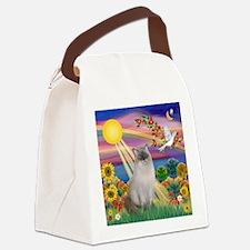Autumn Sun / Ragdoll Canvas Lunch Bag