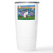 Lilies(JF)/Siamese 24 Travel Mug