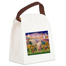 AUTUMN ANGEL Canvas Lunch Bag