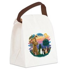 Sister Frances - 5 cats Canvas Lunch Bag