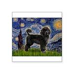 Starry Night / PWD (#2) Square Sticker 3
