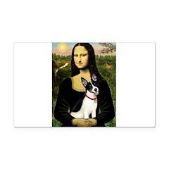 Mona / Rat Terrier Rectangle Car Magnet