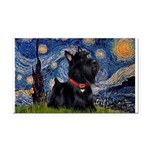 Starry / Scotty(bl) Rectangle Car Magnet