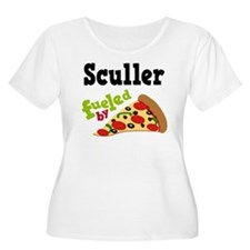 Sculler Fueled By Pizza T-Shirt
