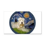 Starry / Wheaten (#1W) Rectangle Car Magnet