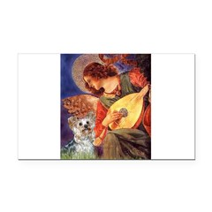 Angel 3 - Yorkshire Terrier Rectangle Car Magnet