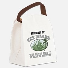 Property of the Island Canvas Lunch Bag