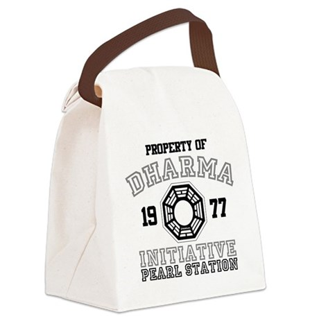Property of Dharma - Pearl Canvas Lunch Bag