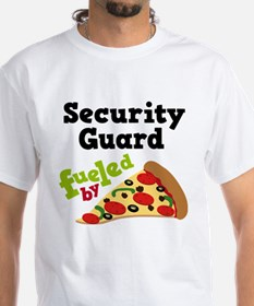 Security Guard Funny Pizza Shirt