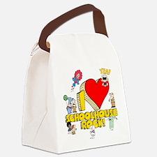 I Heart Schoolhouse Rock! Canvas Lunch Bag