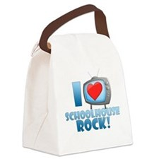 I Heart Schoolhouse Rock Canvas Lunch Bag