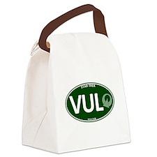 Vulcan Green Oval Canvas Lunch Bag