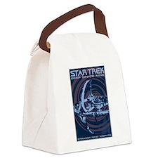 Retro Star Trek:DS9 Poster Canvas Lunch Bag