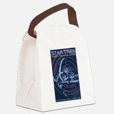 Retro Star Trek:DS9 Poster Canvas Lunch Bag