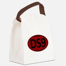 Star Trek: DS9 Red Oval Canvas Lunch Bag