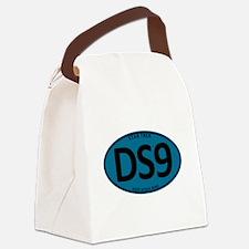 Star Trek: DS9 Blue Oval Canvas Lunch Bag