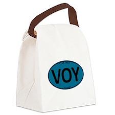 Star Trek: VOY Blue Oval Canvas Lunch Bag