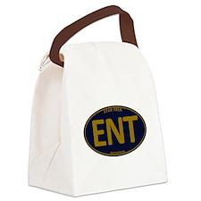 Star Trek: ENT Gold Oval Canvas Lunch Bag