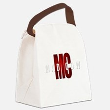 Mad Cow Canvas Lunch Bag