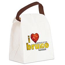 I Heart Bruno Tonioli Canvas Lunch Bag
