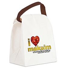 I Heart Maksim Chmerkovskiy Canvas Lunch Bag