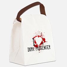 I Heart My Dark Passenger Canvas Lunch Bag