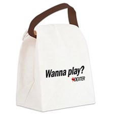 Wanna Play? Canvas Lunch Bag