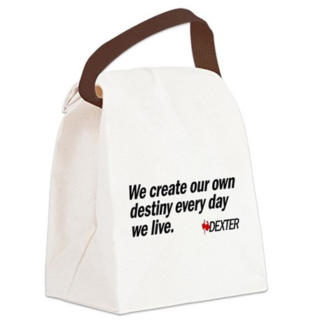 We Create Our Own Destiny Canvas Lunch Bag