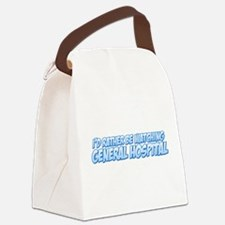 I'd Rather Be Watching Genera Canvas Lunch Bag