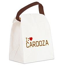 I Heart Cardoza Canvas Lunch Bag