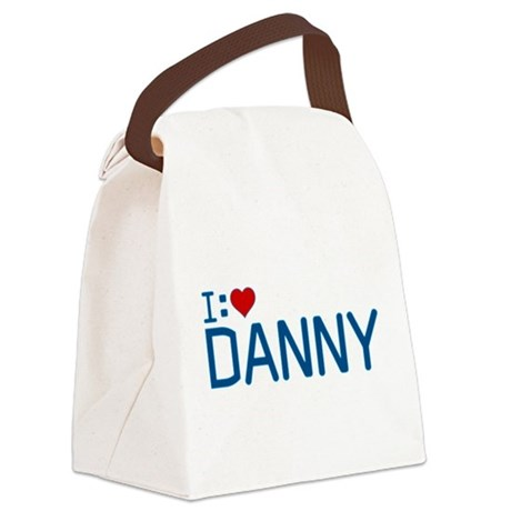 I Heart Danny Canvas Lunch Bag