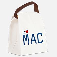 I Heart Mac Canvas Lunch Bag