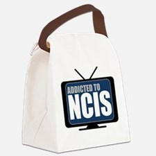 Addicted to NCIS Canvas Lunch Bag