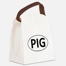 PIG Euro Oval Canvas Lunch Bag