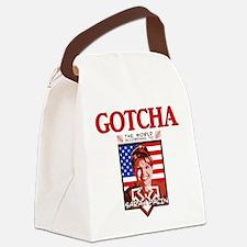 Sarah Palin - Gotcha Canvas Lunch Bag