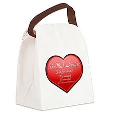 One Night Valentine Canvas Lunch Bag