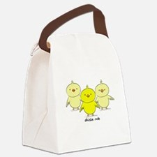 Chicks Rule Canvas Lunch Bag