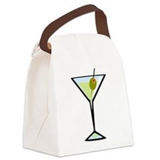 Dirty Martini Canvas Lunch Bag