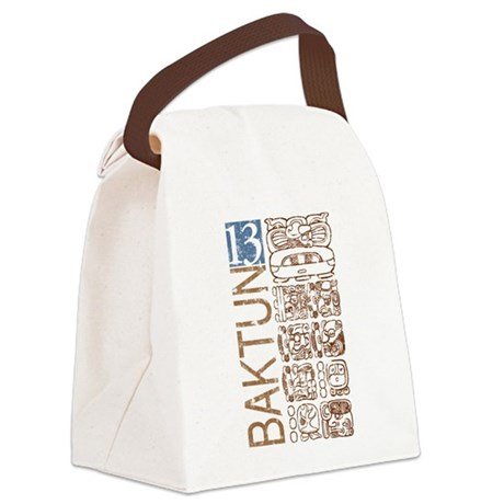 Baktun 13 - Mayan Calendar Glyphs Canvas Lunch Bag