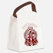 England Soccer Canvas Lunch Bag
