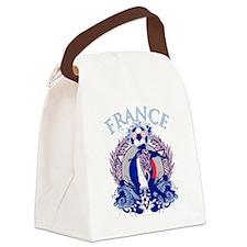 France Soccer Canvas Lunch Bag