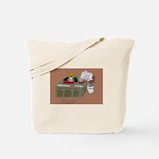 Schrödinger cat's OTHER job Tote Bag