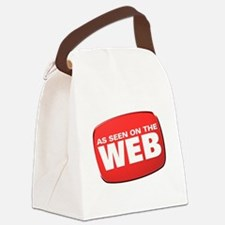 As Seen on the Web Canvas Lunch Bag