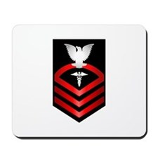 Navy Chief Hospital Corpsman Mousepad