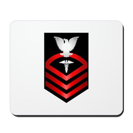 Navy Chief Hospital Corpsman Mousepad