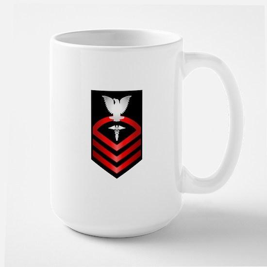 Navy Chief Hospital Corpsman Large Mug